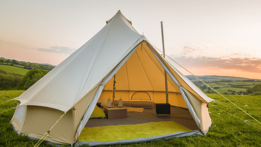 How to Waterproof a Bell Tent Featured Image