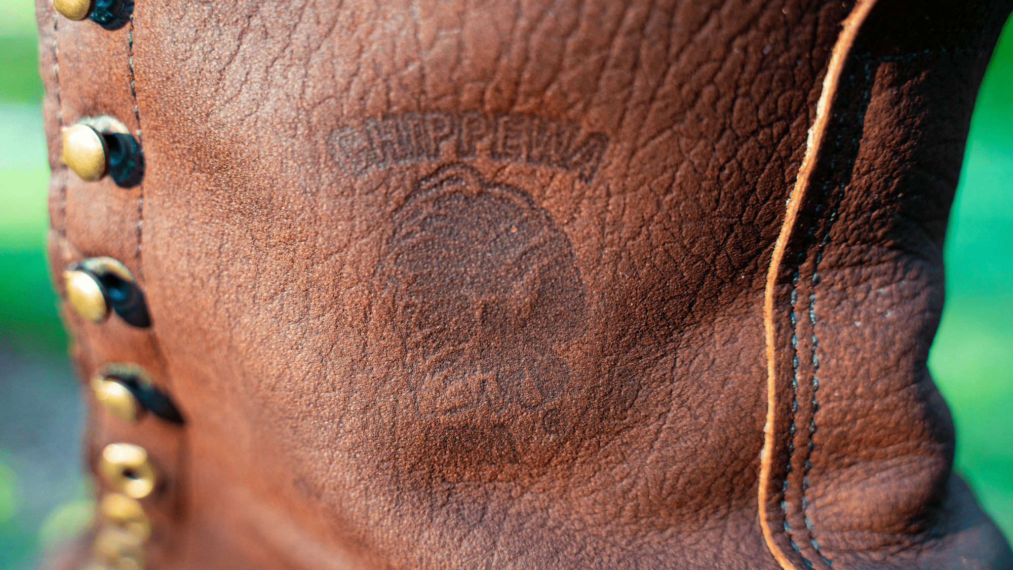 Chippewa Boots After Saddle Soap Cleaning