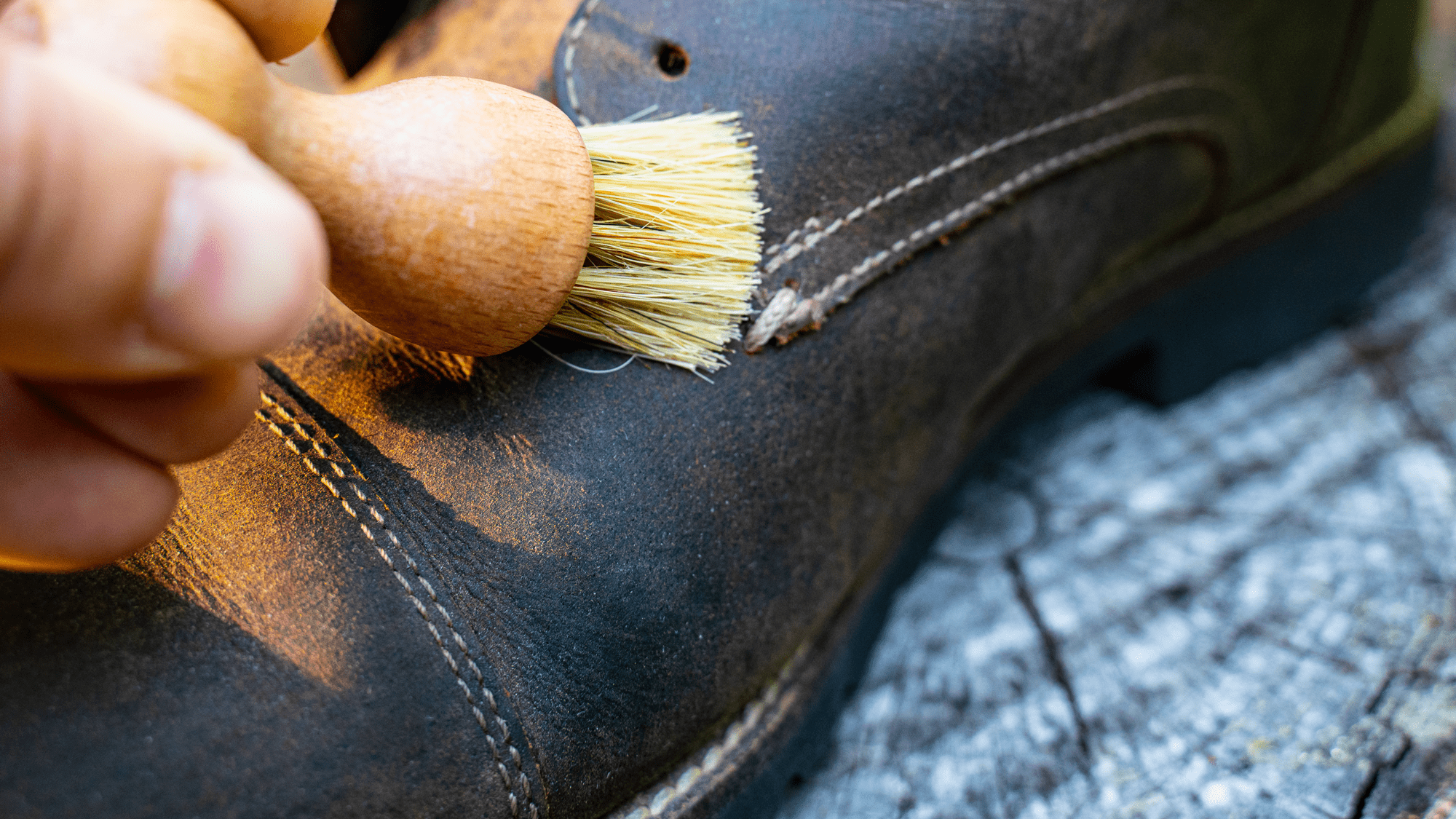 Brush Dirt Off of Swede Shoes