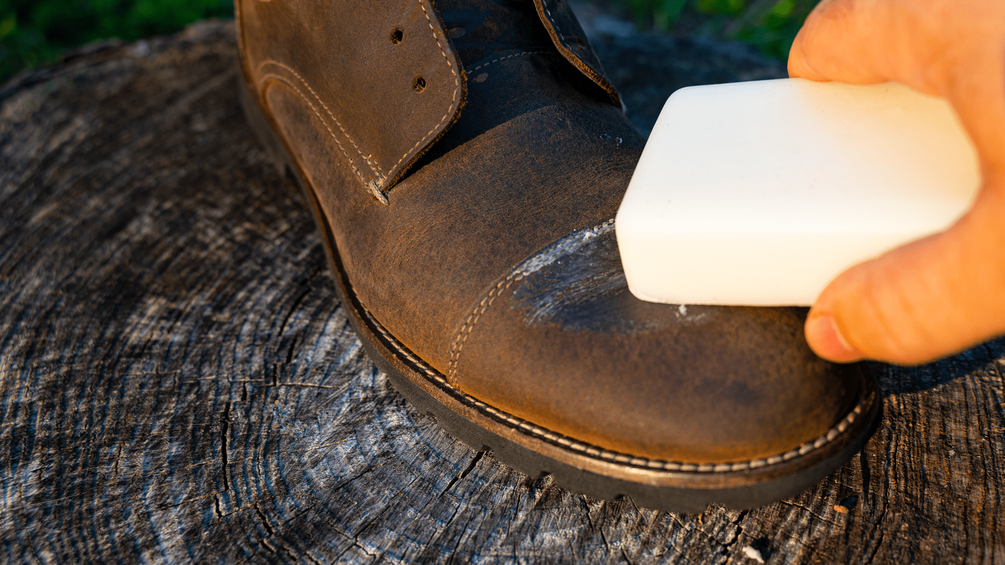 Apply Wax To Swede Shoes